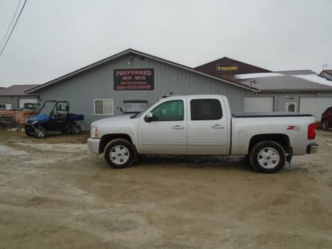 2012 Chevrolet Silverado 1500 for sale at PREFERRED AUTO SALES in Lockridge IA