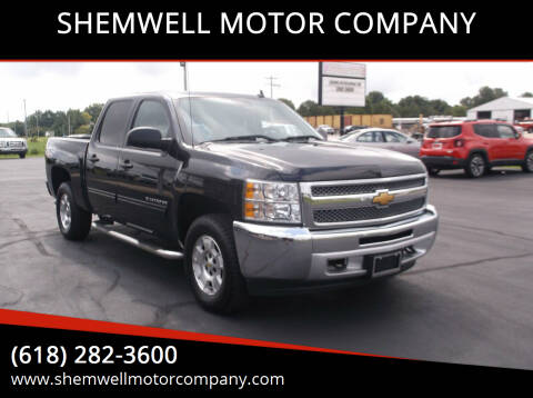2013 Chevrolet Silverado 1500 for sale at SHEMWELL MOTOR COMPANY in Red Bud IL