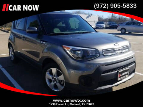 2019 Kia Soul for sale at Car Now Dallas in Dallas TX