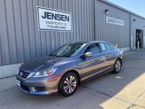 2015 Honda Accord for sale at Jensen's Dealerships in Sioux City IA