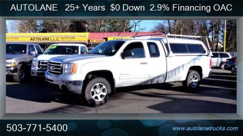 2013 GMC Sierra 1500 for sale at Auto Lane in Portland OR