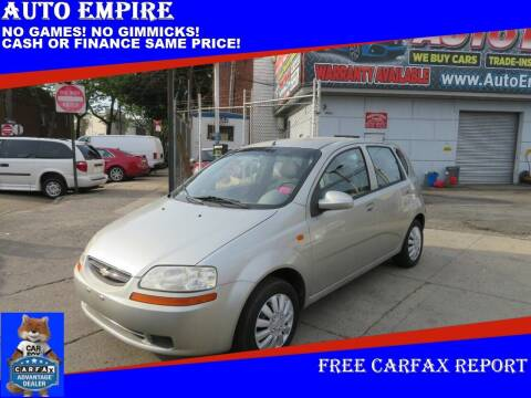 2004 Chevrolet Aveo for sale at Auto Empire in Brooklyn NY