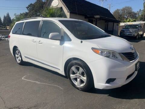2011 Toyota Sienna for sale at Three Bridges Auto Sales in Fair Oaks CA