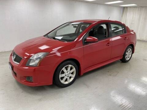 2012 Nissan Sentra for sale at Kerns Ford Lincoln in Celina OH