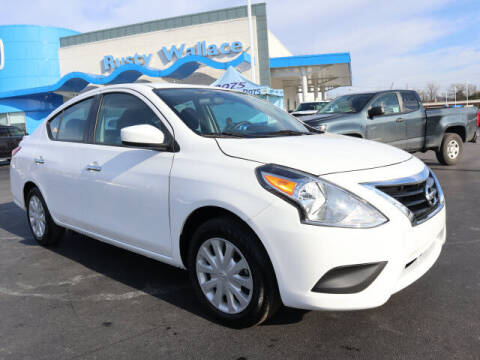 2019 Nissan Versa for sale at RUSTY WALLACE HONDA in Knoxville TN