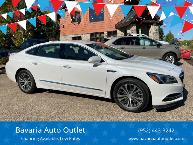 2018 Buick LaCrosse for sale at Bavaria Auto Outlet in Victoria MN