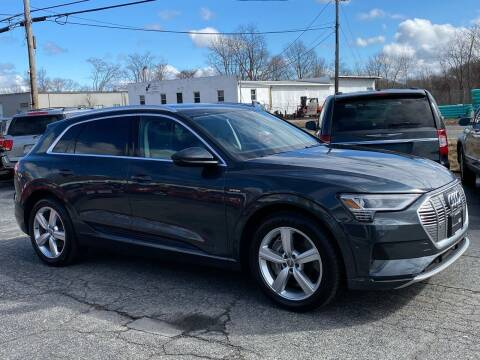 2019 Audi e-tron for sale at MetroWest Auto Sales in Worcester MA