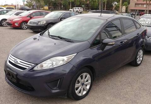 2013 Ford Fiesta for sale at 4 U MOTORS in El Paso TX