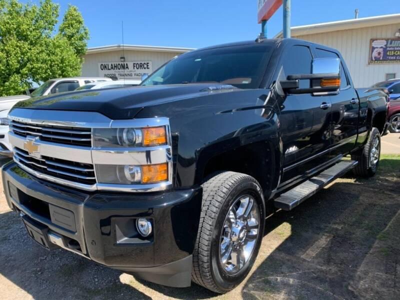 2015 Chevrolet Silverado 2500HD for sale at Lumpy's Auto Sales in Oklahoma City OK