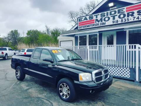2005 Dodge Dakota for sale at EASTSIDE MOTORS in Tulsa OK