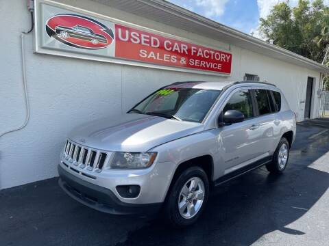 2014 Jeep Compass for sale at Used Car Factory Sales & Service in Port Charlotte FL
