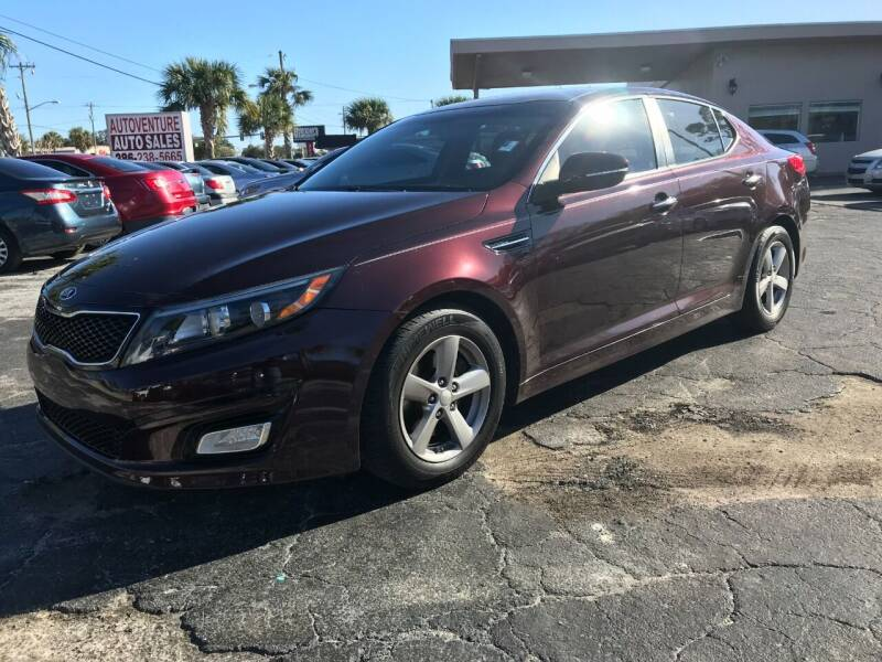 2014 Kia Optima for sale at AutoVenture Sales And Rentals in Holly Hill FL