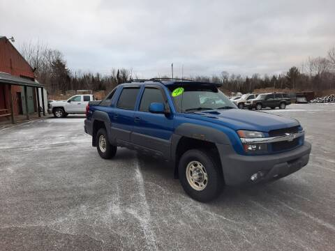 2003 Chevrolet Avalanche for sale at Northpointe Motors in Kalkaska MI