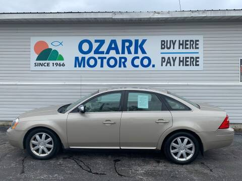 2006 Ford Five Hundred for sale at OZARK MOTOR CO in Springfield MO