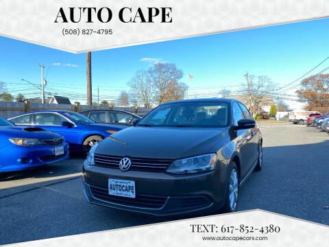 2014 Volkswagen Jetta for sale at Auto Cape in Hyannis MA