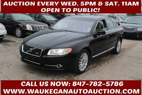 2008 Volvo S80 for sale at Waukegan Auto Auction in Waukegan IL