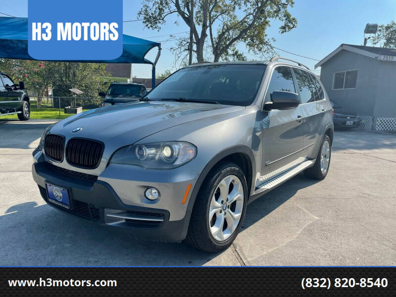 2008 BMW X5 for sale at H3 MOTORS in Dickinson TX