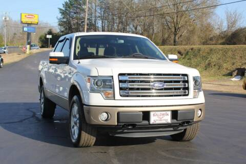2013 Ford F-150 for sale at Baldwin Automotive LLC in Greenville SC
