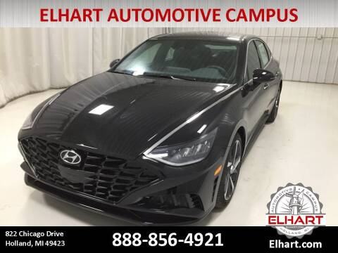 2021 Hyundai Sonata for sale at Elhart Automotive Campus in Holland MI