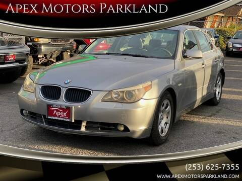 2004 BMW 5 Series for sale at Apex Motors Parkland in Tacoma WA