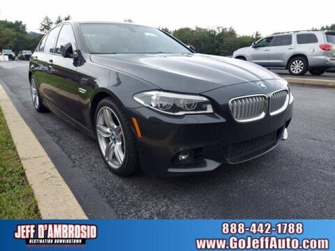 2014 BMW 5 Series for sale at Jeff D'Ambrosio Auto Group in Downingtown PA