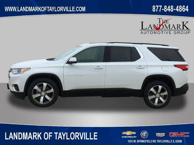 2021 Chevrolet Traverse for sale at LANDMARK OF TAYLORVILLE in Taylorville IL