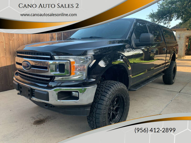 2019 Ford F-150 for sale at Cano Auto Sales 2 in Harlingen TX