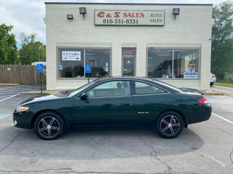 2001 Toyota Camry Solara for sale at C & S SALES in Belton MO