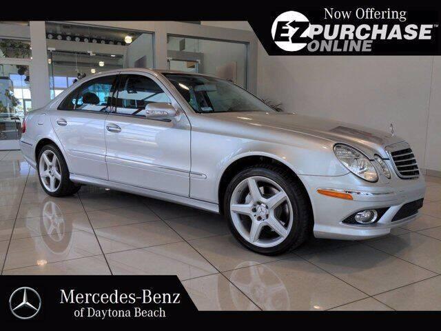2008 Mercedes-Benz E-Class for sale at Mercedes-Benz of Daytona Beach in Daytona Beach FL