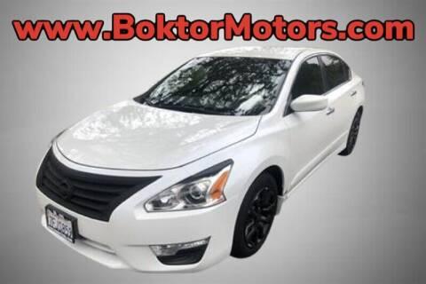 2014 Nissan Altima for sale at Boktor Motors in North Hollywood CA