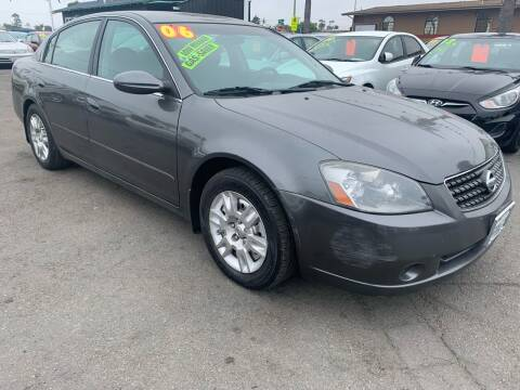 2006 Nissan Altima for sale at North County Auto in Oceanside CA