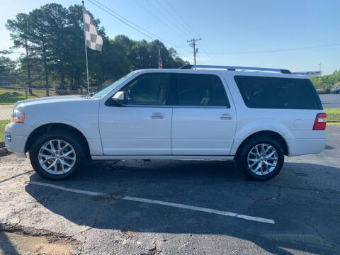 2015 Ford Expedition EL for sale at Specialty Ridez in Pendleton SC