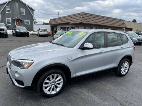 2017 BMW X3 for sale at MAGNUM MOTORS in Reedsville PA