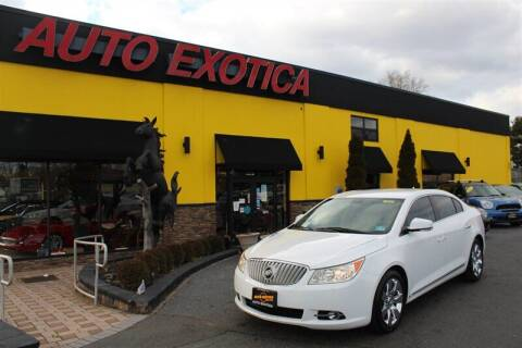 2010 Buick LaCrosse for sale at Auto Exotica in Red Bank NJ