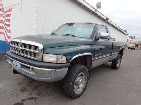 1995 Dodge Ram Pickup 2500 for sale at Tommy's 9th Street Auto Sales in Walla Walla WA