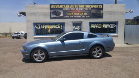 2007 Ford Mustang for sale at Advantage Motorsports Plus in Phoenix AZ