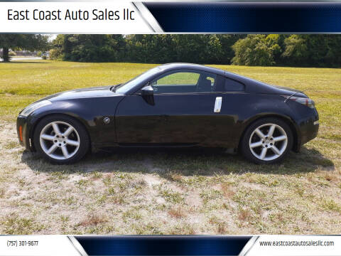 2003 Nissan 350Z for sale at East Coast Auto Sales llc in Virginia Beach VA