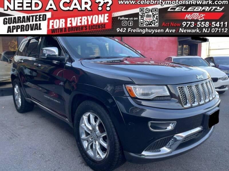 2014 Jeep Grand Cherokee for sale at Celebrity Motors in Newark NJ