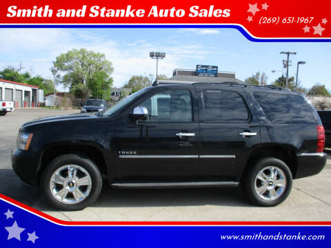 2010 Chevrolet Tahoe for sale at Smith and Stanke Auto Sales in Sturgis MI
