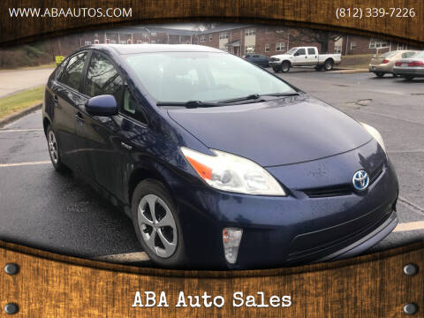 2013 Toyota Prius for sale at ABA Auto Sales in Bloomington IN