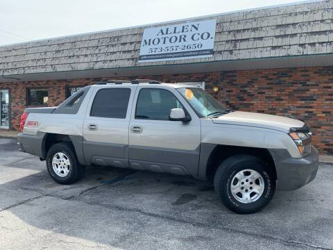 2002 Chevrolet Avalanche for sale at Allen Motor Company in Eldon MO