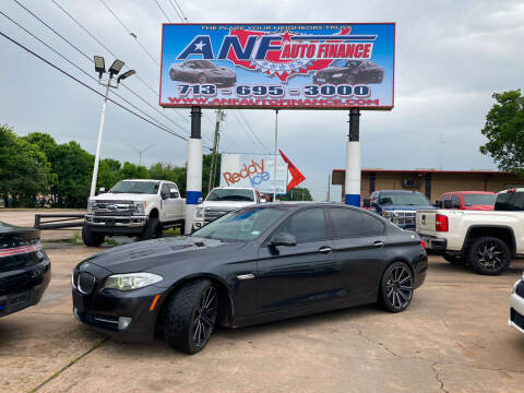 2011 BMW 5 Series for sale at ANF AUTO FINANCE in Houston TX