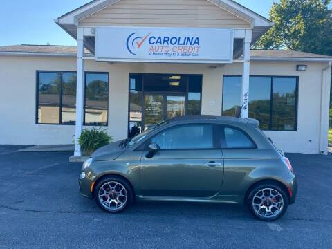 2012 FIAT 500 for sale at Carolina Auto Credit in Youngsville NC