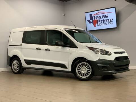 2015 Ford Transit Connect Cargo for sale at Texas Prime Motors in Houston TX