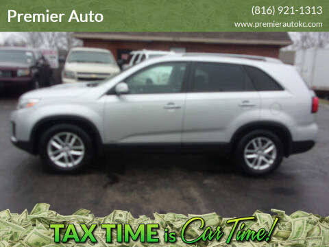 2014 Kia Sorento for sale at Premier Auto in Independence MO