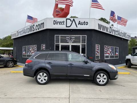 2012 Subaru Outback for sale at Direct Auto in D'Iberville MS