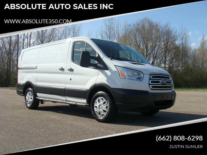 2016 Ford Transit Cargo for sale at ABSOLUTE AUTO SALES INC in Corinth MS