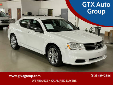 2013 Dodge Avenger for sale at GTX Auto Group in West Chester OH