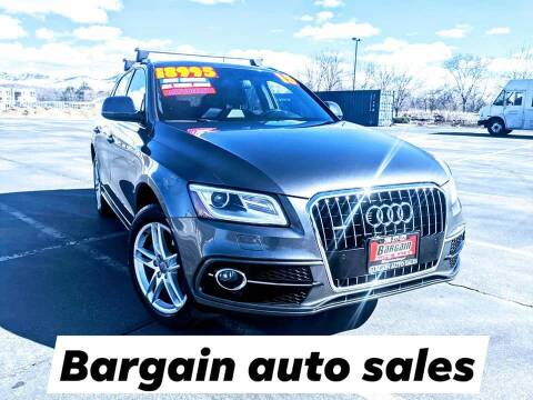 2015 Audi Q5 for sale at Bargain Auto Sales LLC in Garden City ID