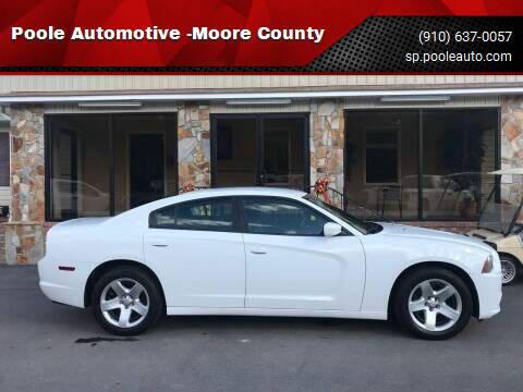 2014 Dodge Charger for sale at Poole Automotive in Laurinburg NC